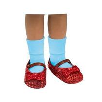 El Mago De Oz Dorothy Traje Lentejuelas Zapato Cubiertas Niñ
