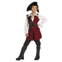Disfraz Elizabeth Piratas Del Caribe P/ Niñas Y Adolescentes