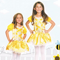 Vestido Princesa Bella Amarillo Disfraz Niña Leg Avenue C481
