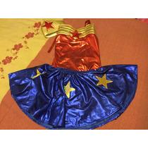 Disfraz Mujer Maravilla Talla 6 Wonder Woman