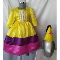 Vestido Disfraz Tipo Dora Princesa