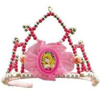 Disfraz Disney La Bella Durmiente Aurora Tiara Costume Acces