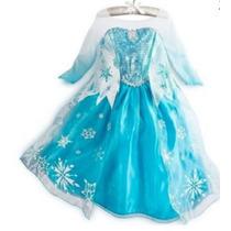 Vestido Elsa Frozen. Envío Gratis