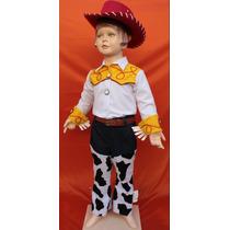 Hermoso Disfraz Inspirado En Jessie Toy Story, Blusa Algodon