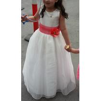 Hermoso Vestido De Gala Para Niña - Talla 8