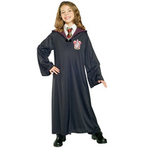 Harry Potter Gryffindor Robe Disfraces De Halloween - Tamaño