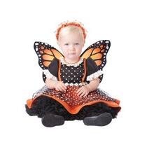 Disfraz Bebe Niña Halloween Mariposa Primavera