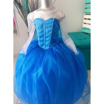 Disfraz Vestido Frozen Ana Elsa Cenicienta Sofia