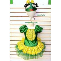 Disfraz De Rana Tutu Niñas Talla 2 Años Disfraces Ranita
