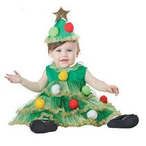Disfraz Navidad Bebe Pino Angel Ayudante Duende Gengibre Mon