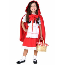 Disfraz De Caperucita Roja Para Niñas Y Bebes Envio Gratis