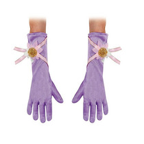 Guantes Disney Halloween Costume Princesa Rapunzel Chicas -