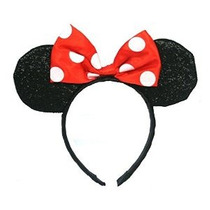 Minnie Mouse Ears Brillaban Diadema Disfraz De Accesorios