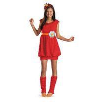 Disfraz De Elmo Plaza Sesamo Para Niñas Y Adolescentes