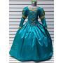 Vestido Princesa Merida Disfraz De Valiente Zapatillas Arco