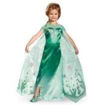 Disfraz Niña Elsa Frozen Fever Disney