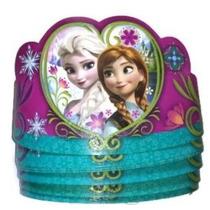 8 Paquete De Disney Frozen Tiaras Papel Coronas Artículos De