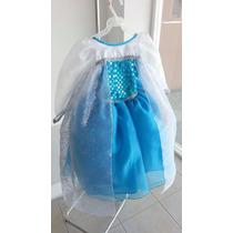 Vestido De Princesa Frozen (elsa)