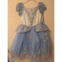 Disfraz Vestido Cenicienta Disney Princesa Original Nuevo