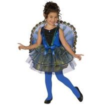 Disfraz De Pavo Real Para Niñas Y Adolescentes Envio Gratis