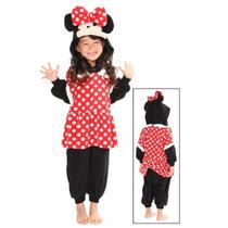 Pijama / Mameluco De Mimi Minnie Mouse Para Niñas