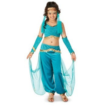 Disfraz De Belly Dance, Genio, Arabe Para Niñas Envio Gratis