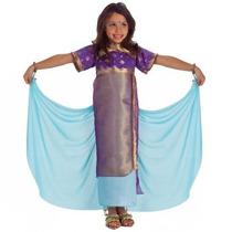 Disfraz De Bollywood, India, Hindu Para Niñas, Envio Gratis