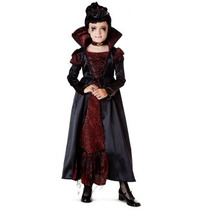 Disfraz De Vampiresa, Vampiro Para Niñas, Miedo, Dracula