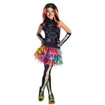 Monster High Skelita Calaveras Disfraz Pequeño
