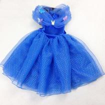 Disfraz Vestido Cenicienta Disney 2015 Niña