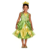 Disfraz De Princesa Y El Sapo Tiana Para Niñas, Envio Gratis