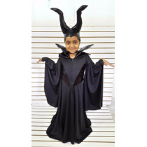 Disfraz Malefica Vestido Niña Catrina Calaca Jack Sombrerero