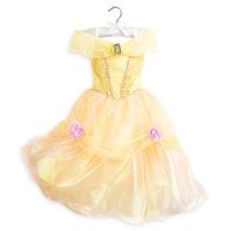 Vestido Disfraz Bella Modelo 2016 100% Disney Store!