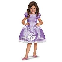 Disfraz De Chica Disney La Primera Sofia Classic 4-6x Vestua