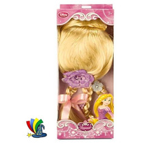 Disfraz Rapunzel Peluca Original Disney Store