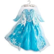 Tamaño De Vestuario Frozen Elsa Deluxe 6 (130)