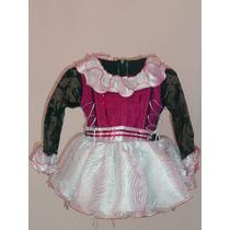 Vestido Disfraz Lujo Princesa Monster High