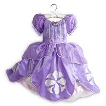 Disfraz Princesa Sofia Original Disney Store Para Niña