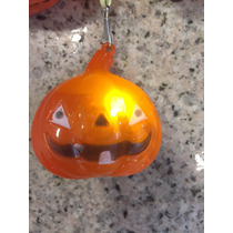 Collar Halloween Luz Calabaza Estrella Fiesta Disfraz
