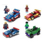 Avengers Superheroes Hulk Capitán América Ironman Thor Con S