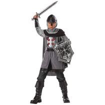 Disfraz De Caballero Medieval Para Niños, Envio Gratis