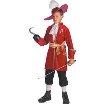 Disfraz Pirata, Capitan Garfio, Hook, Peter Pan Para Niños