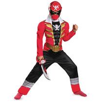 Disfraz Power Ranger Super Megaforce 4/6 Años Entrega Inmedi
