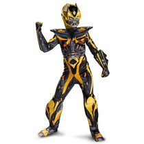 Disfraz Niño Transformers Bumblebee Version Lujo
