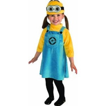 Despicable Me Minion 2 Mujer Disfraz Niño 1-2