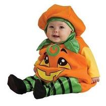 Disfraz Bebe Calabaza Niño Niña Halloween