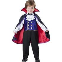 Disfraz Vampiro Niño Dracula Halloween Vampirito