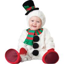 Disfraz Navidad Bebe Mono Nieve Reno Duende Santa Galleta