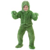 Disfraz De Grinch De Navidad, Monstruo Verde Para Niños