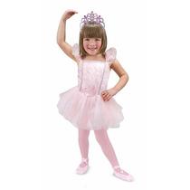 Disfraz De Bailarina Para Niños Con Accesorios Ballerina